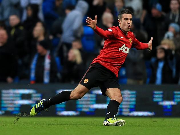 Manchester United striker Robin Van Persie inspired by younger duo