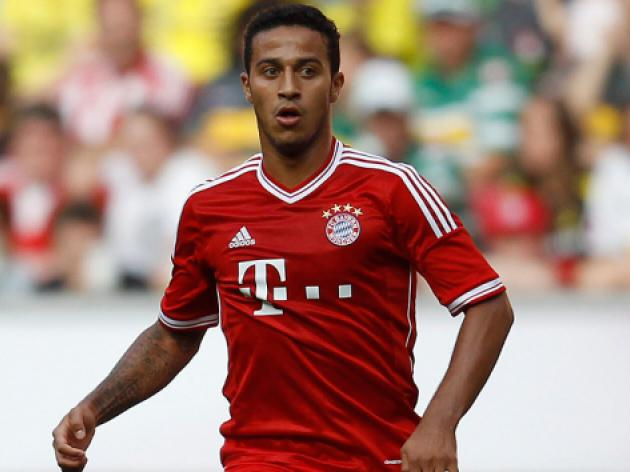 Bayerns Thiago ruled out of Man Utd clash