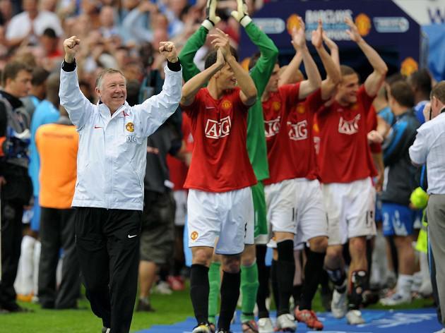 Blatter hails Fergie's achievements