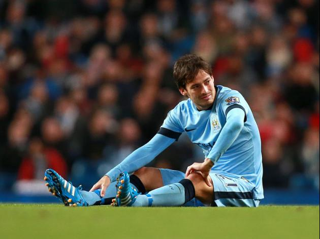Silva ruled out of Manchester derby