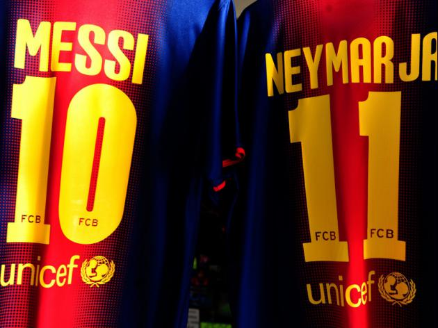 With Messi, Neymar and Suarez Barcelona have the most feared strike force in the world