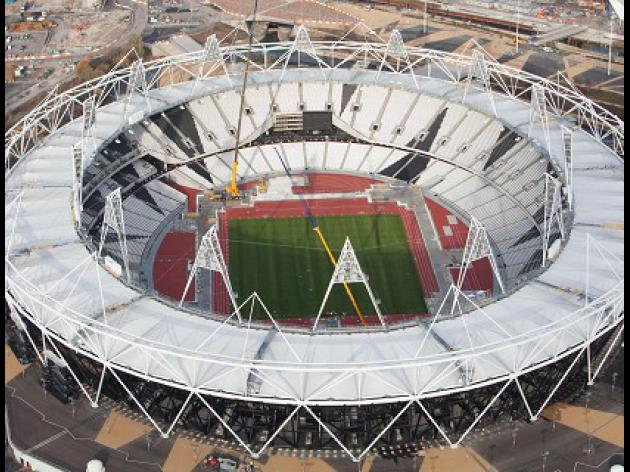 Man held in Games stadium spy probe