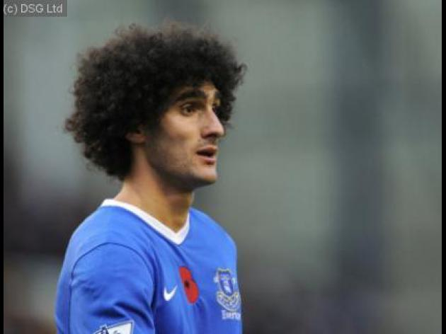Zenit eye Everton midfielder Marouane Fellaini