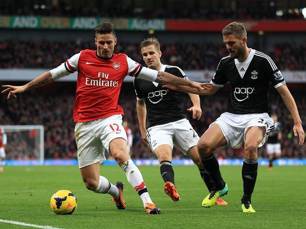 Wilshere hails Giroud form