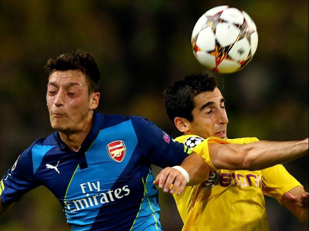 Mesut Ozil following in same footsteps as Juan Sebastian Veron