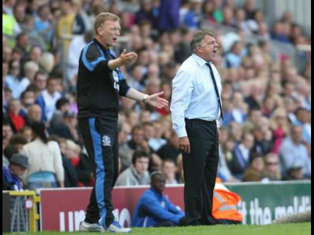 Allardyce and Moyes slam referee Taylor after reds for Cole and Gibson