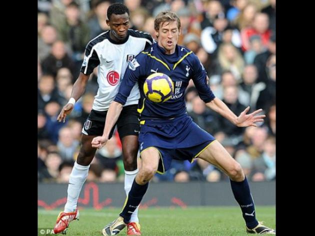 Crouch on Zenit radar as Russians prepare to double Spurs striker's wages