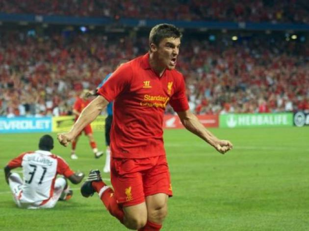 Adam Morgan to lead Liverpool attack in Moscow