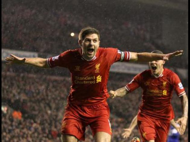 Liverpool 4-0 Everton: Match Report