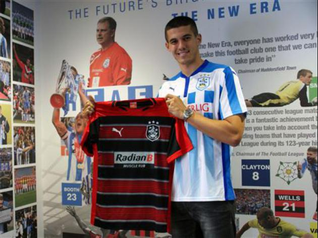 Conor Coady signs for Huddersfield Town from Liverpool for 500,000