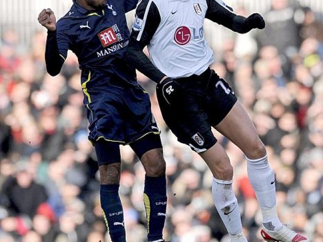 Fulham 0 Tottenham 0: Gomes the hero as Spurs escape with a point