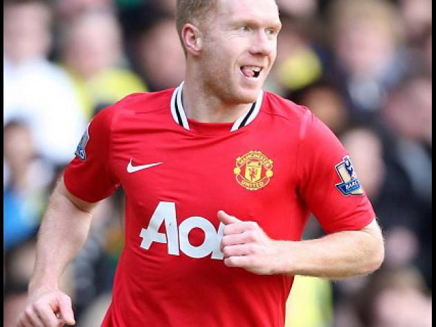 Scholes enjoying thrill of the chase