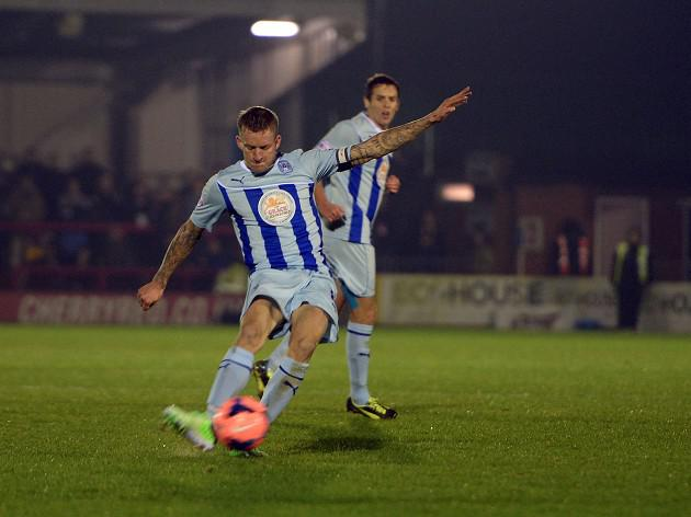 Coventry make cup progress