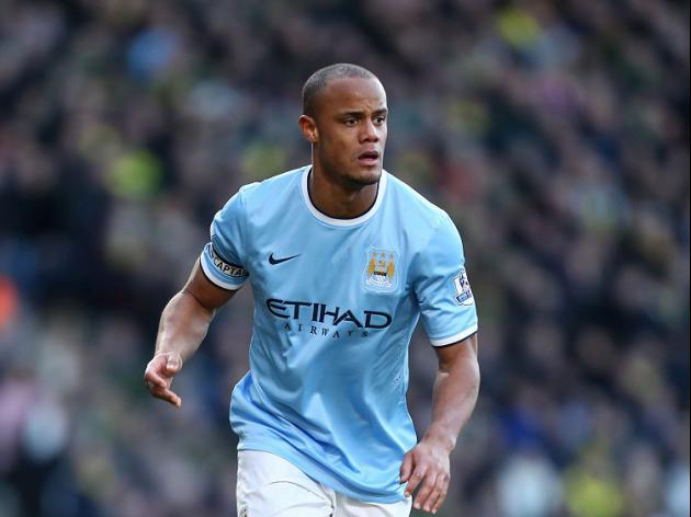 Kompany injury scare for City