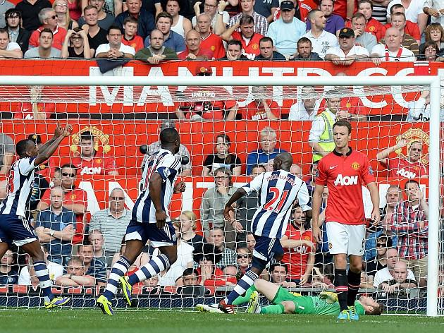 Baggies stun United