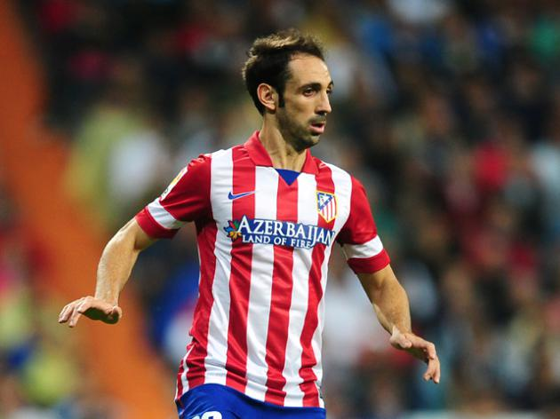 Atleticos Juanfran cleared to face Barca