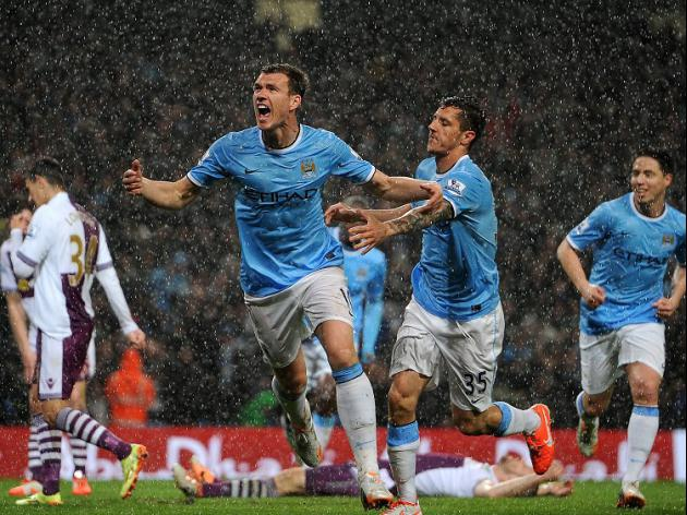 City move to brink of title glory