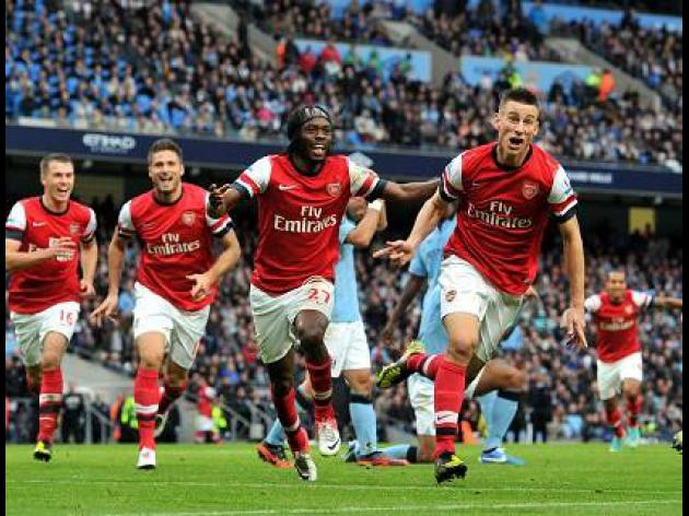 Man City 1-1 Arsenal: Report