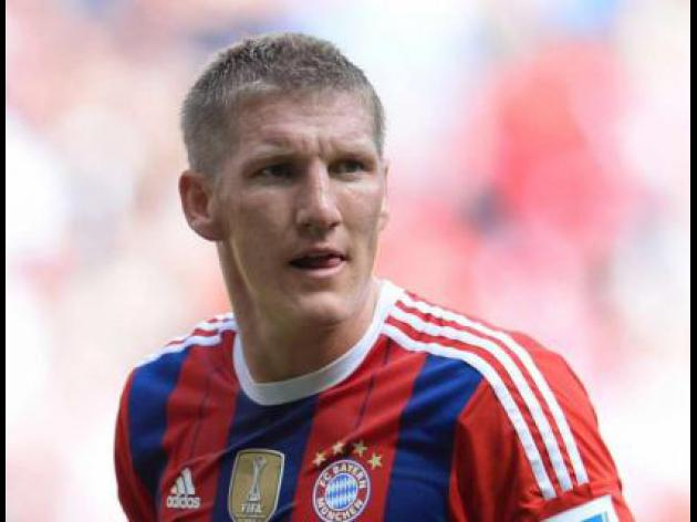 Bayern without Schweinsteiger for several weeks