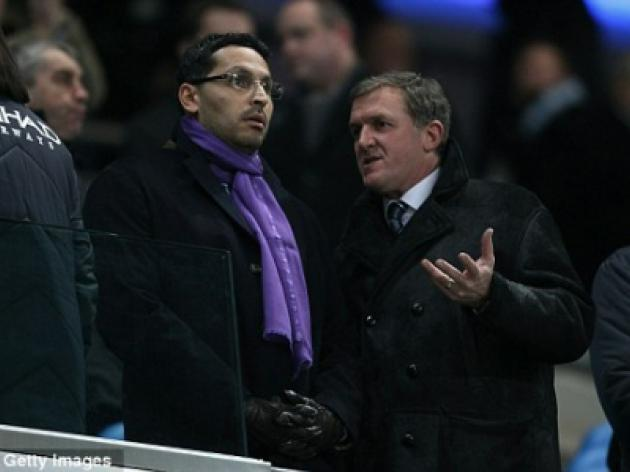 Manchester City chairman Khaldoon Al Mubarak lays down his marker
