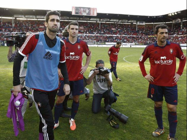 Osasuna relegated amidst barrier collapse chaos