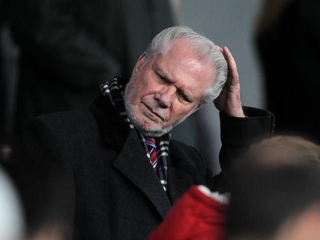 West Ham Chairman David Gold suffering from pneumonia