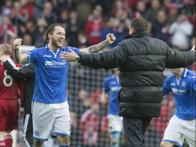 St Johnstone 2-0 Dundee Utd: Match Report