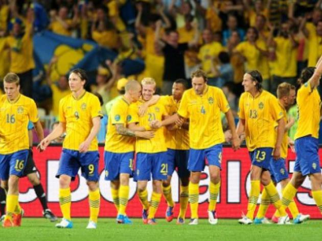 Sweden V France : UEFA Euro 2012 Match Report