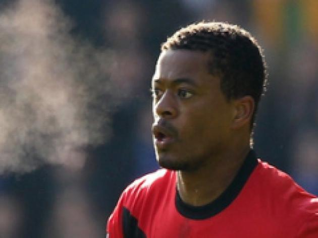 Hard work pays off for Evra