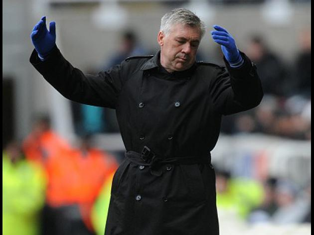 Fear factor frustrates Ancelotti