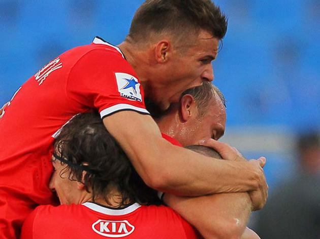 Spartak secure narrow win in Samara
