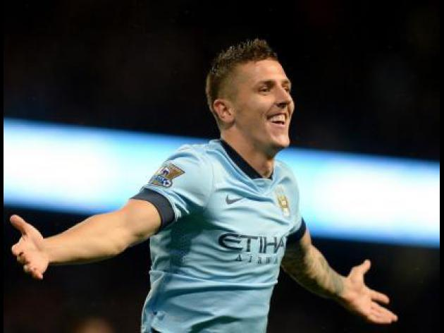 Jovetic at the double for City