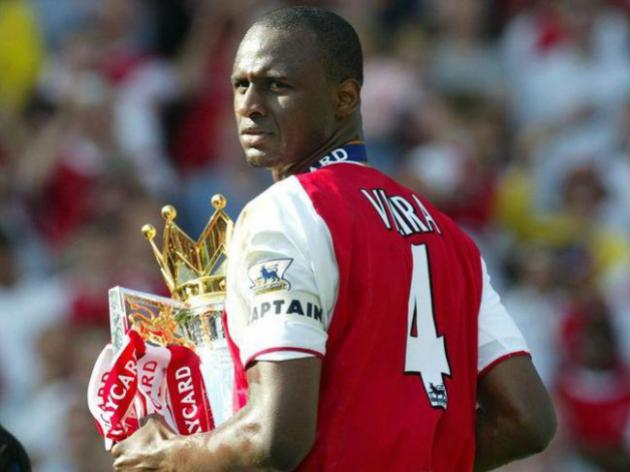 Patrick Vieira Joins Dennis Bergkamp On Short-list For Arsenal Role