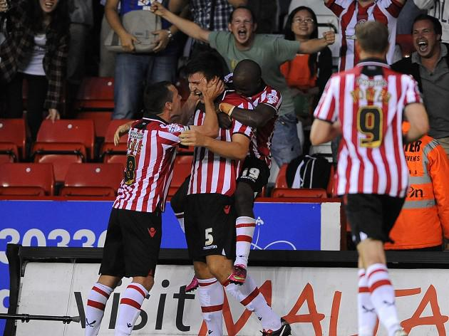 Blades start season with victory