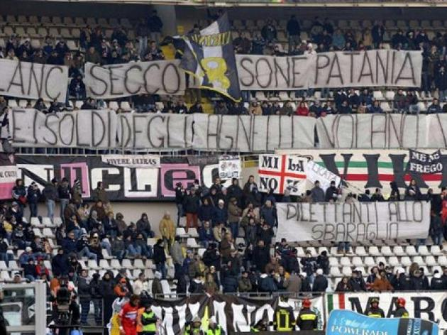 Juve fined again for racist chants