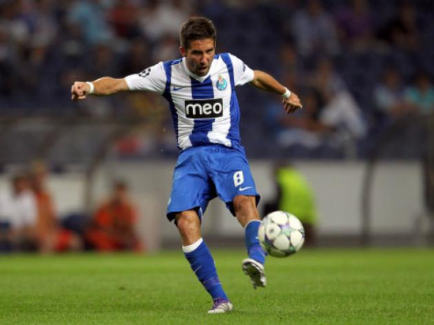 Spurs and Everton on alert as Joao Moutinho could be set to leave Porto