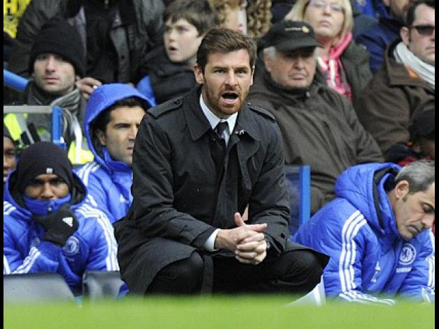 Villas-Boas refuses to panic