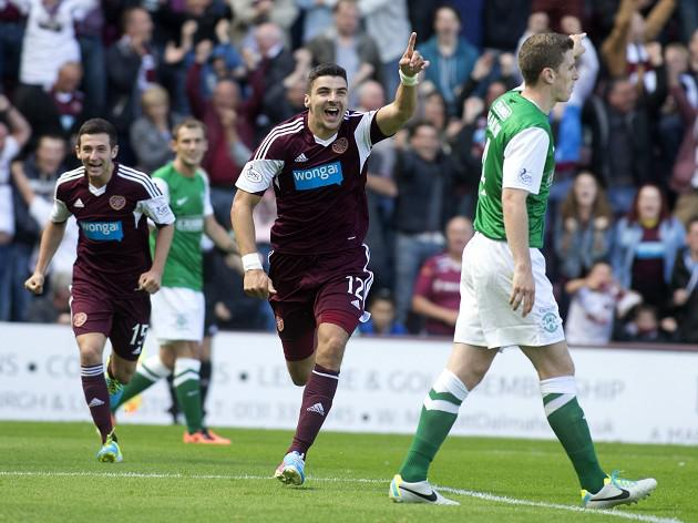 Hearts claim Edinburgh derby win