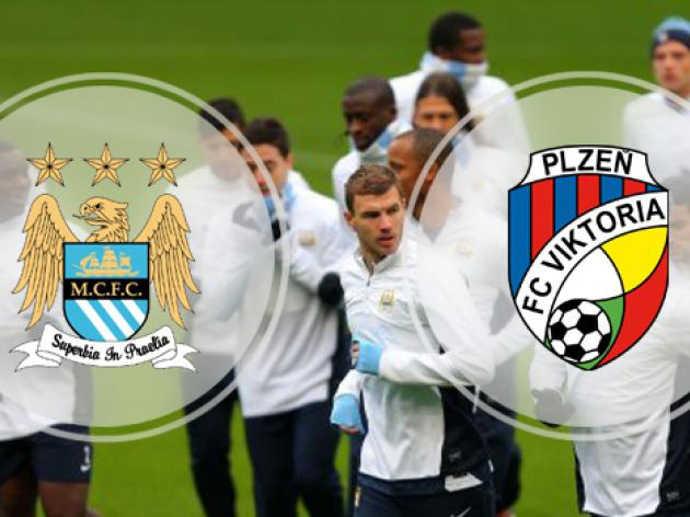 Manchester City v Viktoria Plzen : Champions League Match Preview