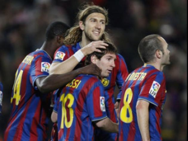 Barca aim for football spectacle