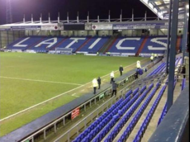 Latics v Rovers clash in doubt