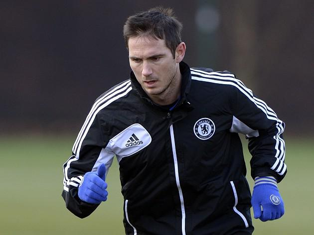 Chelsea midfielder Frank Lampard set to miss Sparta clash