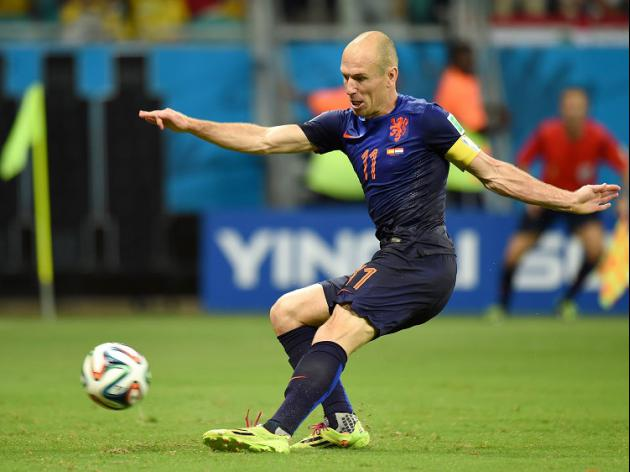 Proud Robben urges Dutch to move on