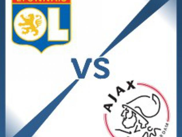 Ajax away at Lyon - Follow LIVE text commentary