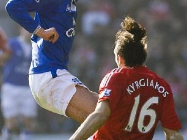 Everton star Fellaini out for six months after clash with Reds bruiser Kyrgiakos