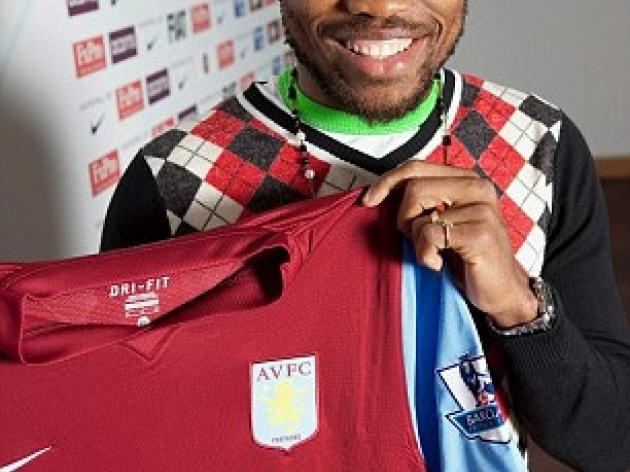Aston Villa complete 6m signing of Lyon midfielder Jean Makoun