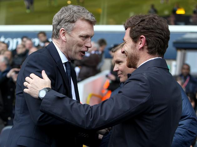 Moyes backs AVB to see Spurs right