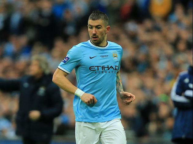 Kolarov happy he stayed with City