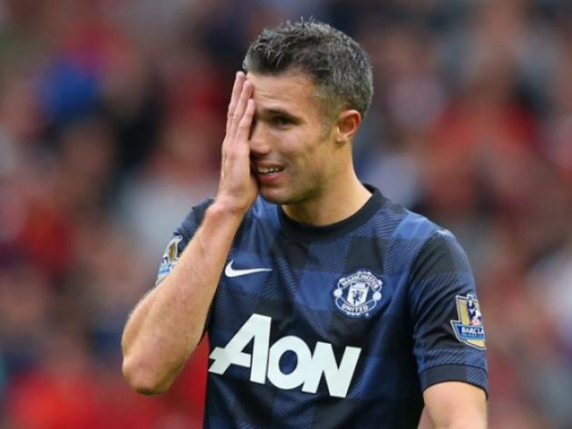Manchester United forward van Persie praises Moyes methods