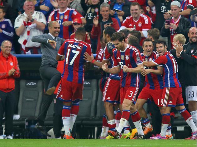 Bayern face new-look Hamburg, Leverkusen at Wolfsburg